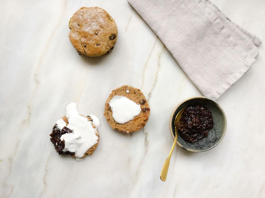 scones sin gluten