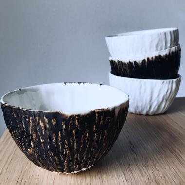 bol negro cerámica artesanal
