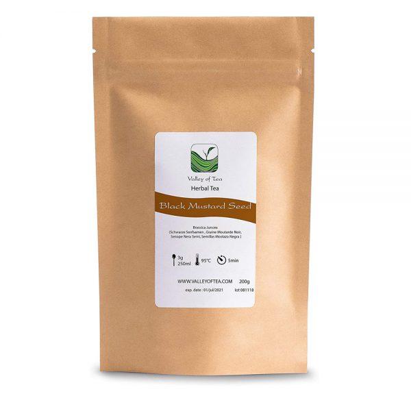 Semillas mostaza negra ecologicas Valley of Tea