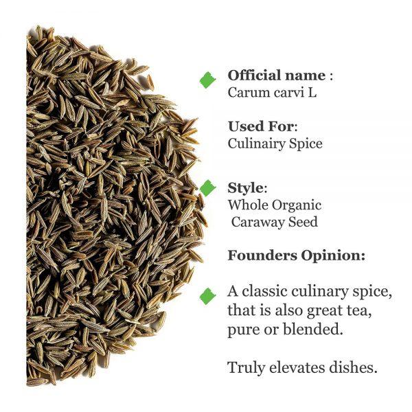 Uso Semilla Alcaravea ecologica