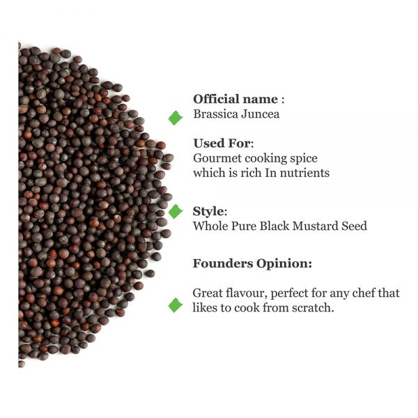 Uso mostaza negra ecológica