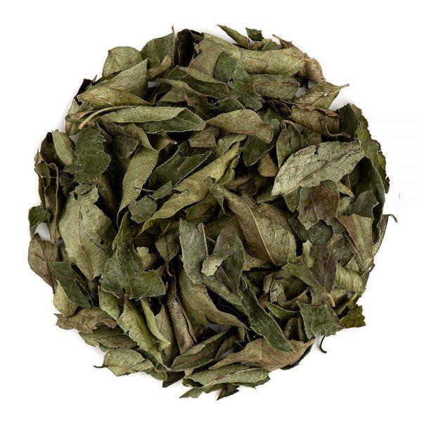 hojas curry ecológicas